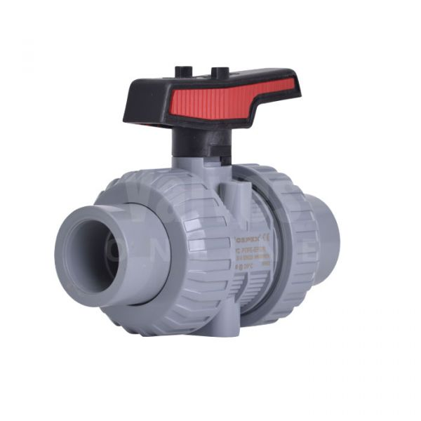 PVC-C Manual Ball Valve Extreme Range
