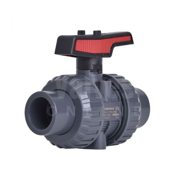 PVC-U Manual Ball Valve Extreme Range