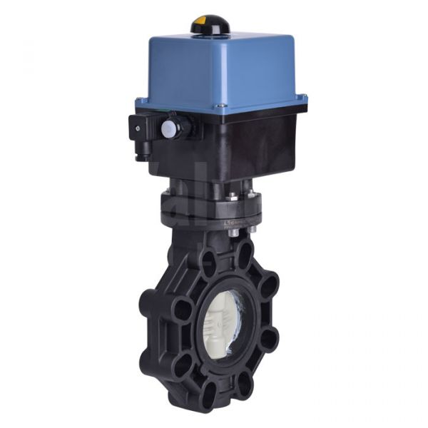 Electrically Actuated Butterfly Valve PP-H Disc Extreme Series