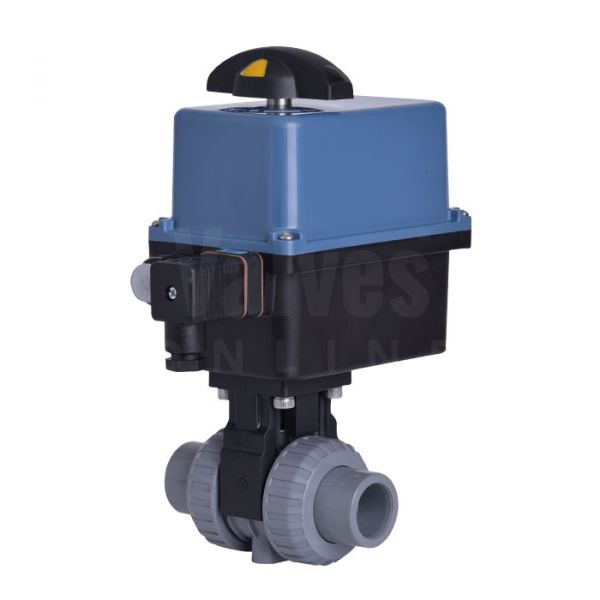 Extreme Series Electrically Actuated PVC-C Ball Valve