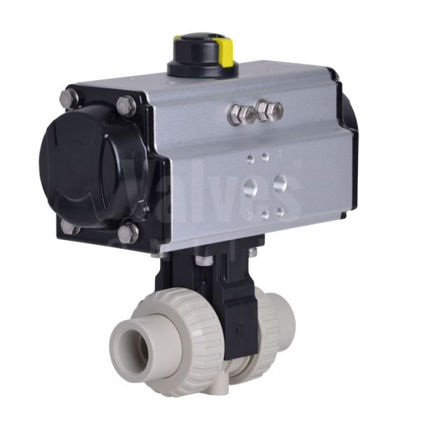 Pneumatically Actuated PP-H Ball Valve Extreme Series
