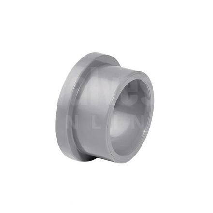 ABS Plain Inch Stub Flange Serrated Face