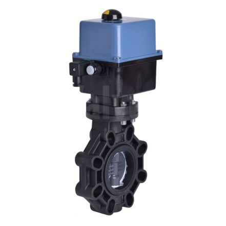 Electrically Actuated Butterfly Valve PVC-U Disc Extreme Series