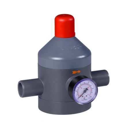 GEMU N182 PVC-U Pressure Reducing Valve (DN10-DN50)