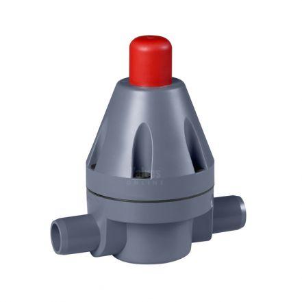 GEMU N186 PVC-U Pressure Retaining Valve (DN10-DN50)