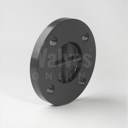 PVC Plain Metric Blank Flange BS4504 PN10/16