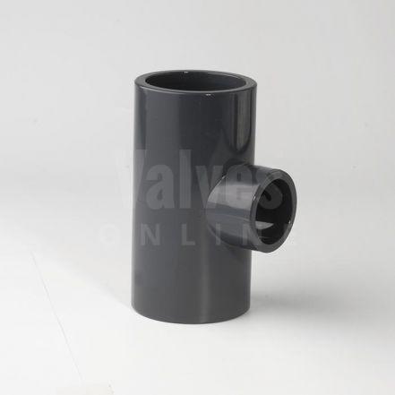 PVC Plain Metric Reducing Tee