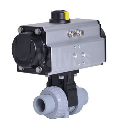Pneumatically Actuated ABS Ball Valve Extreme Series