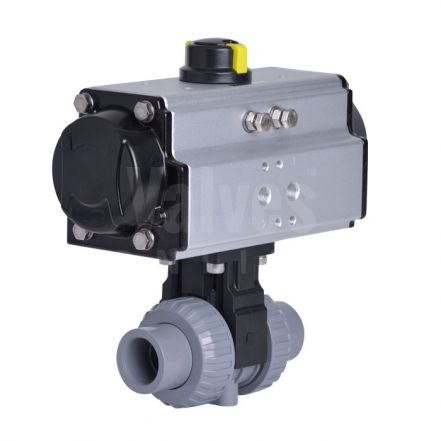 Pneumatically Actuated PVC-C Ball Valve Extreme Series