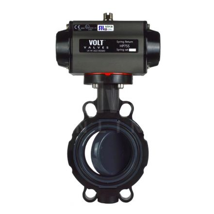 PVC Butterfly Valve with Pneumatic Actuator