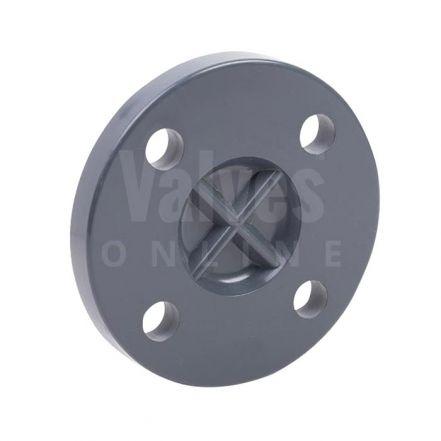 PVC Plain Inch Solvent Blank Flange PN10/16