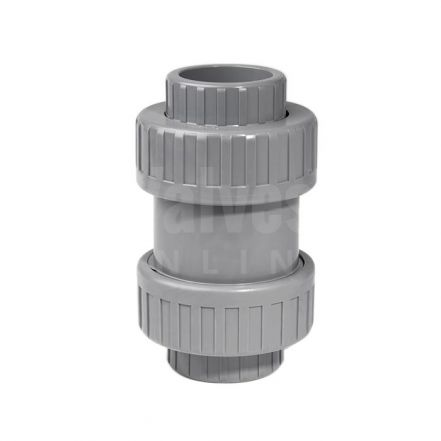 ABS Double Union Spring Check Valve