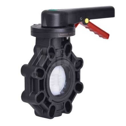 Extreme Series Butterfly Valve PVDF Disc
