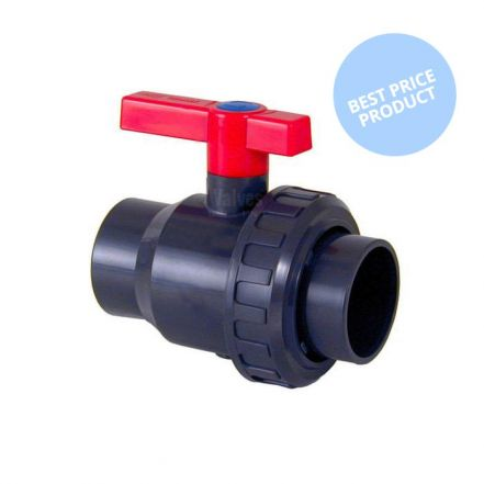 Cepex Economy PVC Single Union Ball Valve