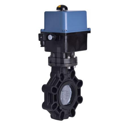 Electrically Actuated Butterly Valve PVC-C Disc Extreme Series