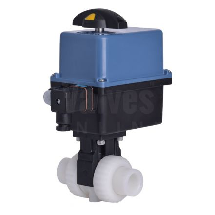 Extreme Series Electrically Actuated PVDF Ball Valve