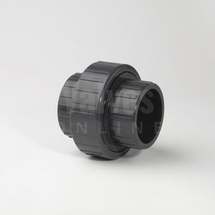 PVC Plain Metric Solvent Union