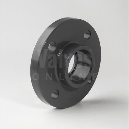 PVC Plain Metric BS4504 PN10/16 Full Face Flange