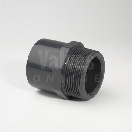 PVC Plain Metric x Male Threaded Adaptor