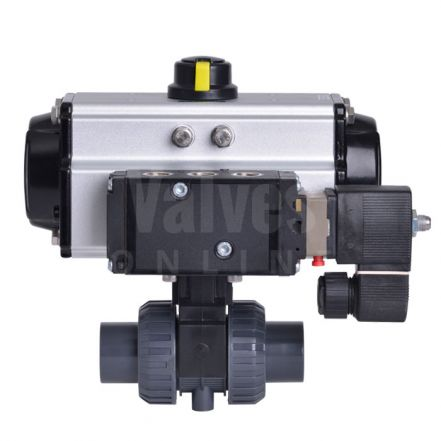 Extreme Series Pneumatically Actuated PVC-U Ball Valve