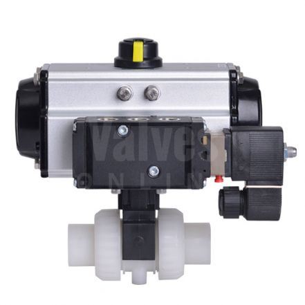 Pneumatically Actuated PVDF Ball Valve Extreme Series