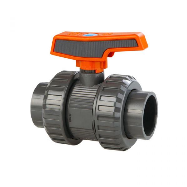 Industrial PVC Double Union Ball Valve