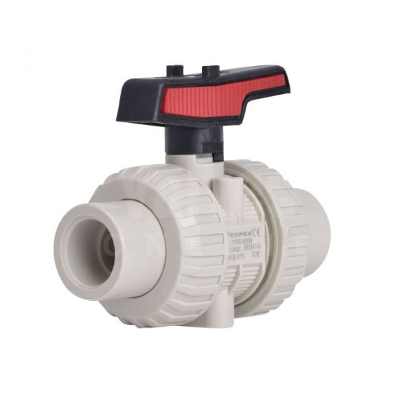PP-H Manual Ball Valve Extreme Range