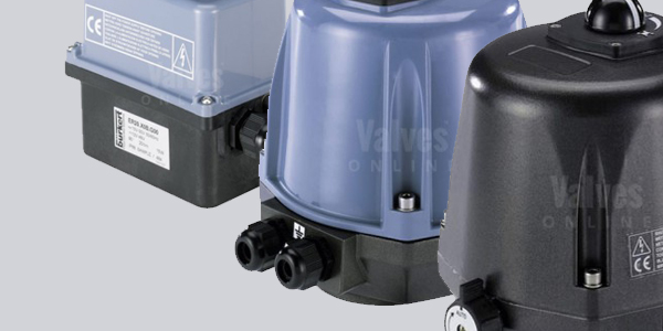 Burkert Electric Rotary Actuators