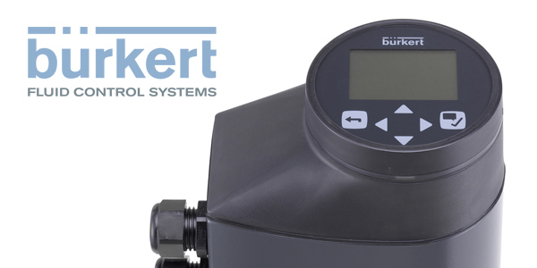 Electromotive Process Valves from Burkert