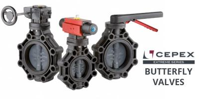 Cepex Extreme Butterfly Valves