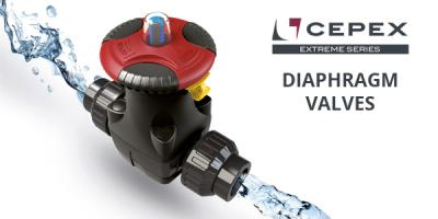 Cepex Extreme Diaphragm Valves