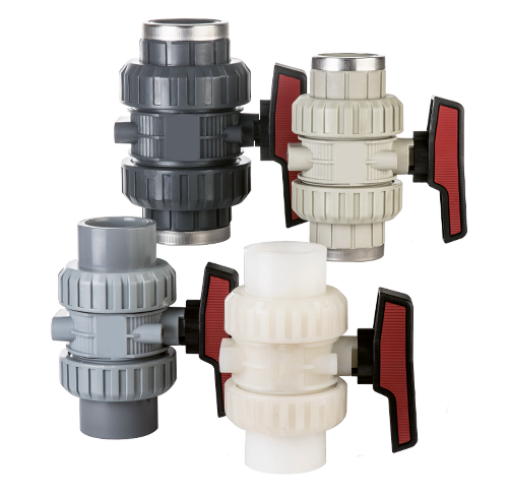 PLASTIC MANUAL VALVES