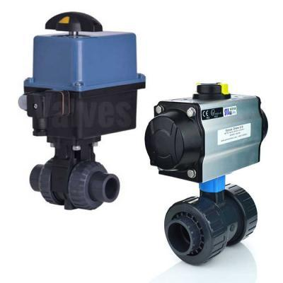 Plastic Actuated Ball Valves