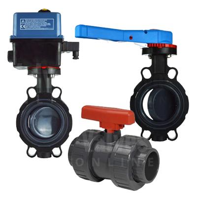 PVC - Plimat - Manual & Actuated Valves