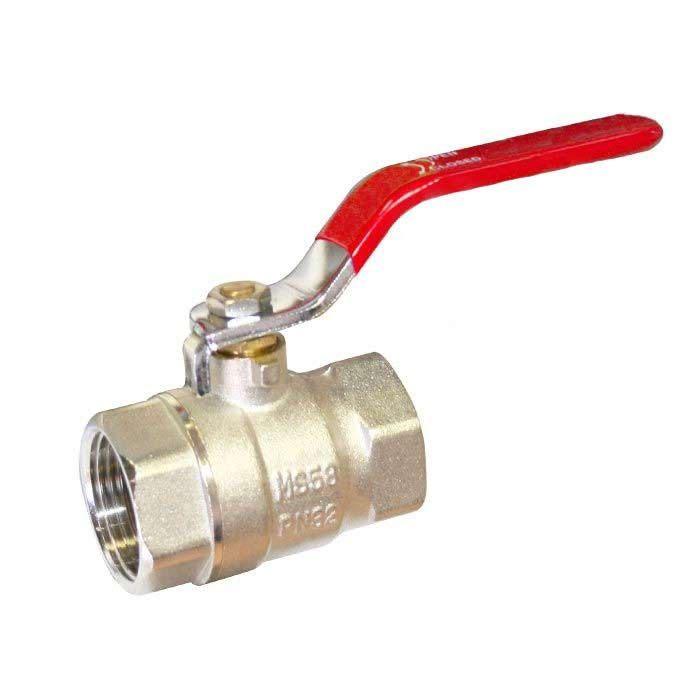 ball valves screwed BSPP