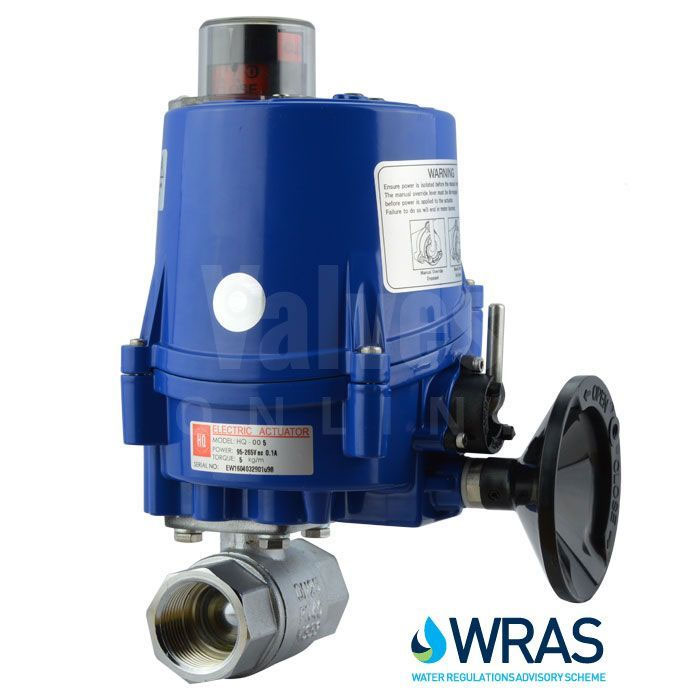 WRAS Approved valves