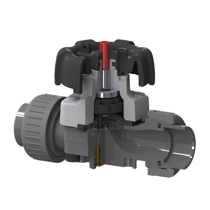 GEMÜ 677 PVC-U Diaphragm Valve