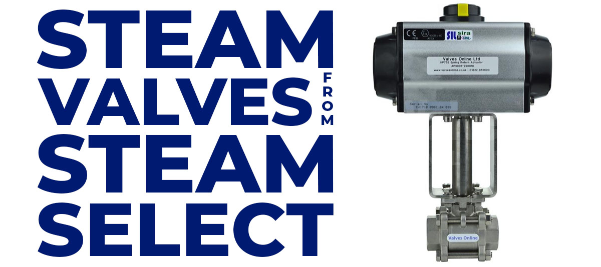 Steam Valves from Steam select