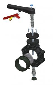 Cepex Extreme Butterfly Valve diagram