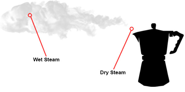 Wet and Dry steam