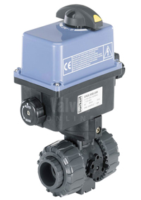 Electric Actuated PVC Ball Valve