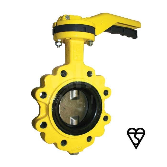 BSI Gas Approved Butterfly Valve